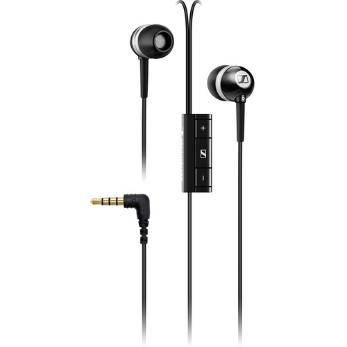 Sennheiser MM 70 iP Noise-Isolation In-Ear Stereo Headphones with Mic