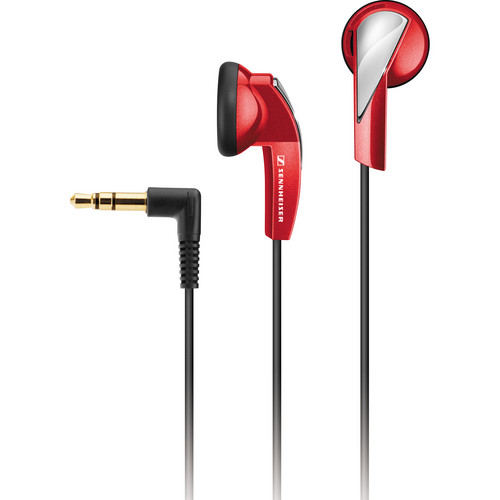 Sennheiser MX 365 Stereo Earbuds (Red)