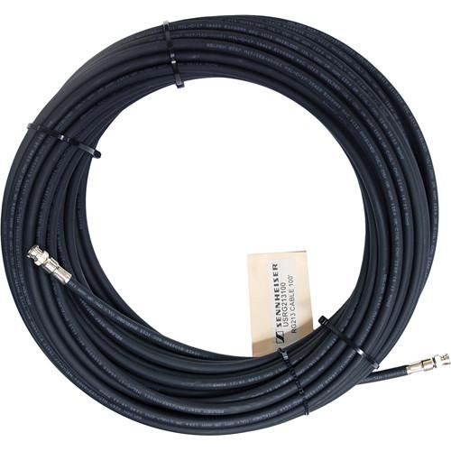Sennheiser RG213 Low-Loss RF Antenna Cable 100' (30.48 m)