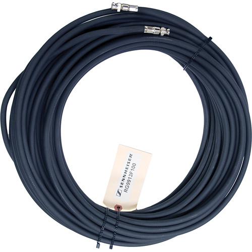 Sennheiser RG9913 Low-Loss Flexible RF Antenna Cable 100' (30.48 m)