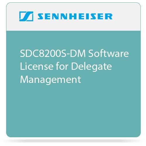 Sennheiser SDC8200S-DM  Software License for Delegate Management