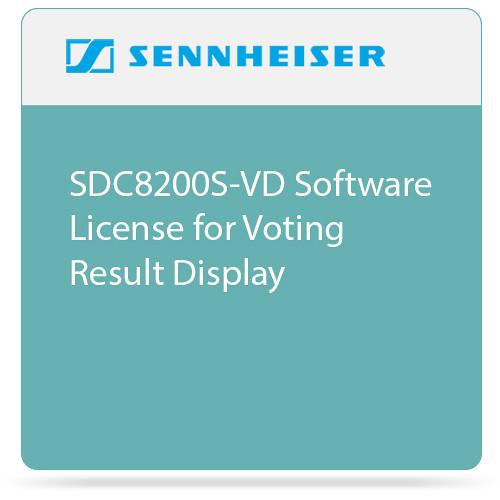Sennheiser SDC8200S-VD  Software License for Voting Result Display