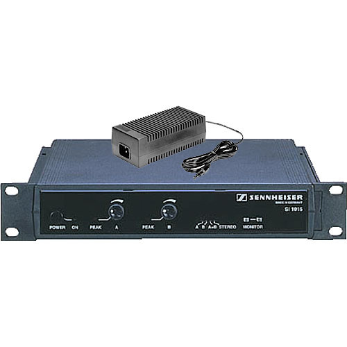 Sennheiser SI 1015 Dual Modulator with NT1015-120 29VDC Power Supply