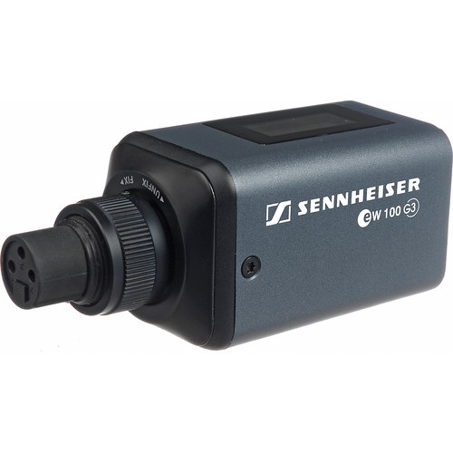 Sennheiser SKP 100 G3 Plug-on Transmitter for Dynamic Microphones - B (626-668 MHz)