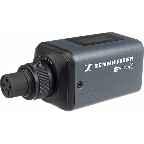Sennheiser SKP 100 G3 Plug-on Transmitter and Porta Brace RMB-SK100 Protector Kit - A (516-558 MHz)