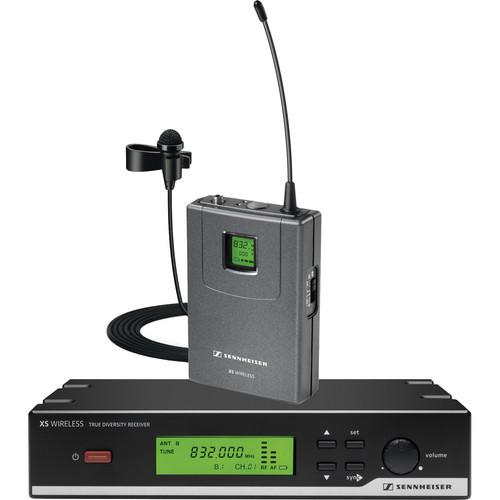 Sennheiser XSW 12 Presentation Set Wireless Lavalier Microphone System