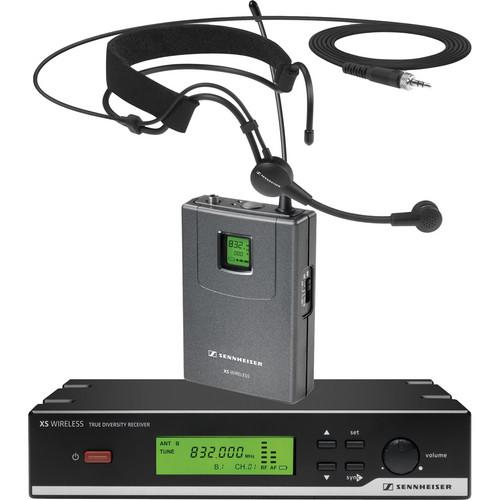 Sennheiser XSW 52 Headmic Set Wireless Headworn Microphone System