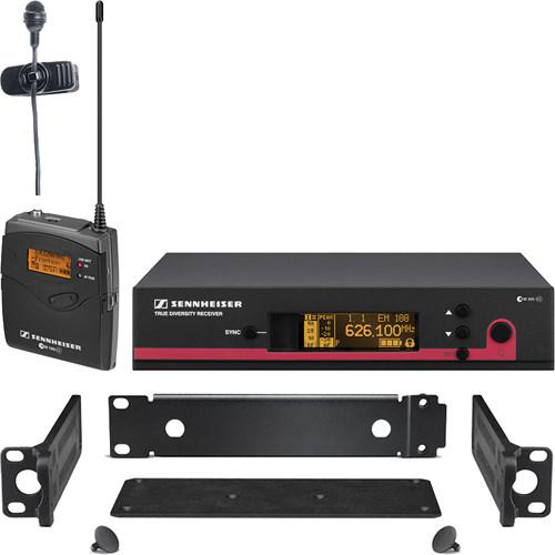 Sennheiser ew 122 G3 Wireless Bodypack Microphone System with GA 3 Rack Kit - G (566-608 MHz)