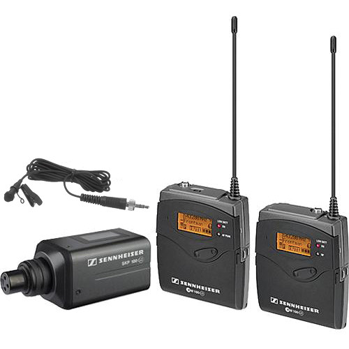 Sennheiser ew 100 ENG G3 Dual Wireless Basic Kit - B (626-668 MHz)