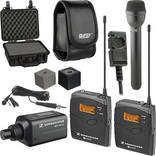 Sennheiser ew 100 ENG G3 Wireless Broadcast Kit - B (626-668 MHz)