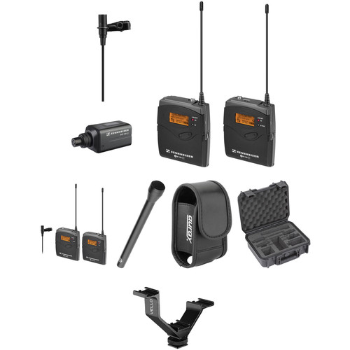 Sennheiser ew 100 ENG G3 Dual Wireless Basic Kit - G (566-608 MHz)