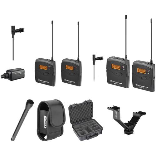 Sennheiser ew 100 ENG G3 Dual Wireless Basic Kit - A (516-558 MHz)