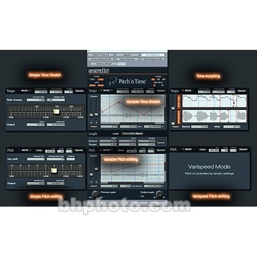 Serato Pitch 'n Time Pro - Time-Stretching and Pitch-Shifting Plug-In