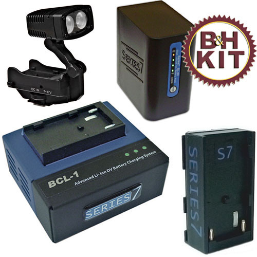 Series 7 S7CAG1K2 Series 7 Battery and Light Kit - for Canon XH-1/XG-1
