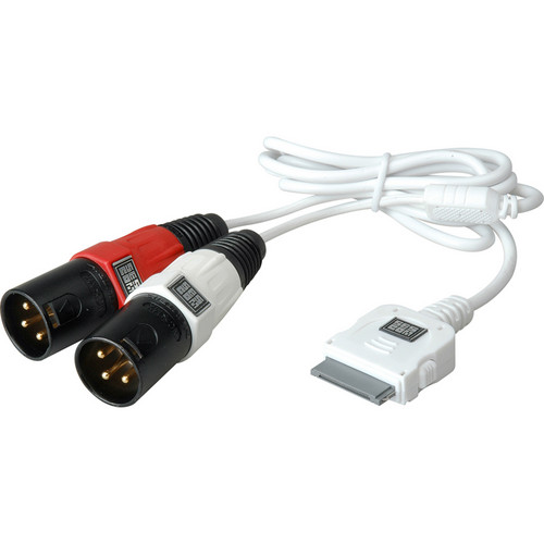 Sescom iPod Breakout Cable to Left & Right XLR Audio Male