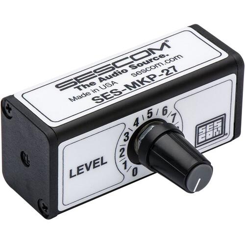 Sescom SES-MKP-27 Professional Stereo 3.5mm Volume Control