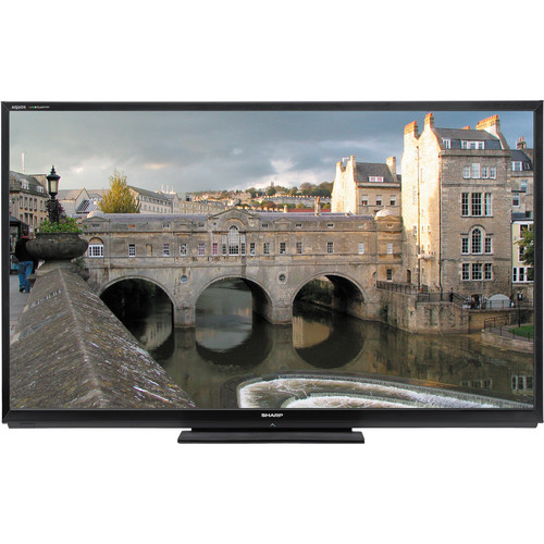 "Sharp LC-60LE847U 60"" AQUOS Quattron LED Smart TV"