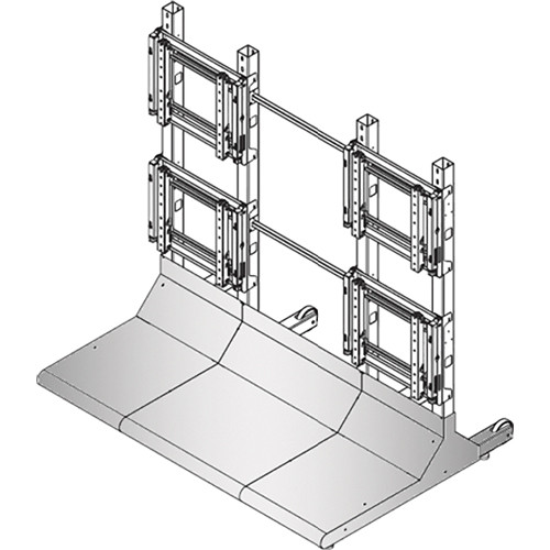 Sharp Bundled Hardware for Free Standing Displays (2 x 2)
