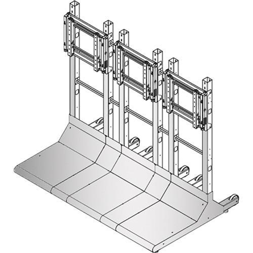 Sharp Bundled Hardware for Free Standing Displays (3 x 1)