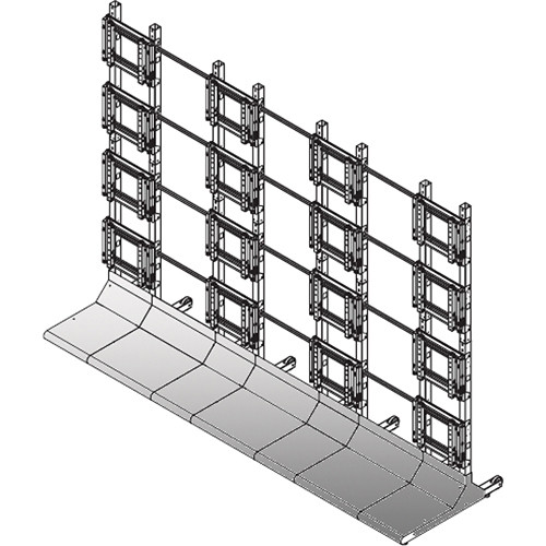 Sharp Bundled Hardware for Free Standing Displays (4 x 4)