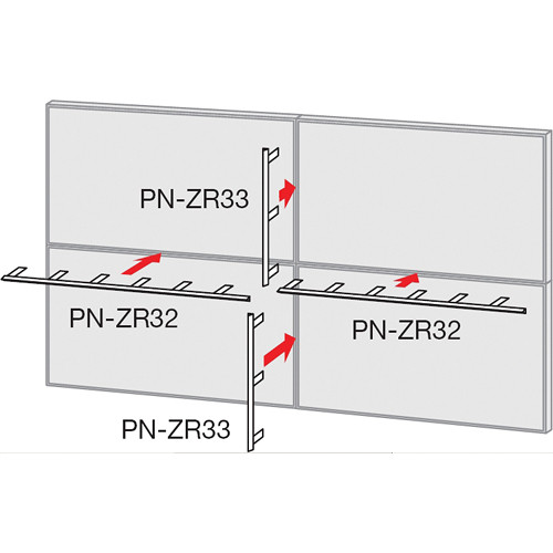 Sharp PN-ZR33 Short Mirror Frame