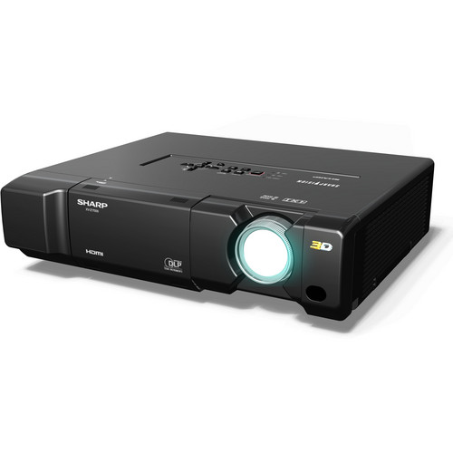 Sharp XVZ17000 3D SharpVision 1080p DLP Front Projector