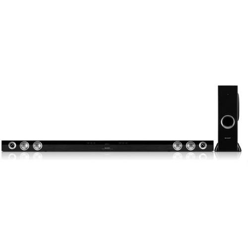 Sharp HT-SB60U 2.1 Channel Slim Sound Bar Home Theater System