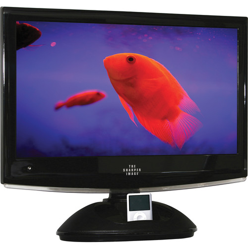 """Sharper Image TSI-LCD22DVDi 22"""" 720P LCD TV with DVD Player and iPod Dock"""