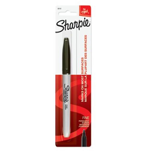 Sharpie Fine Point Permanent Marker (Black)