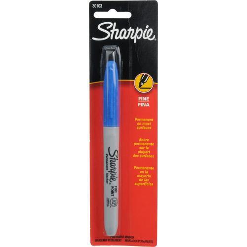 Sharpie Fine Point Permanent Marker (Blue)