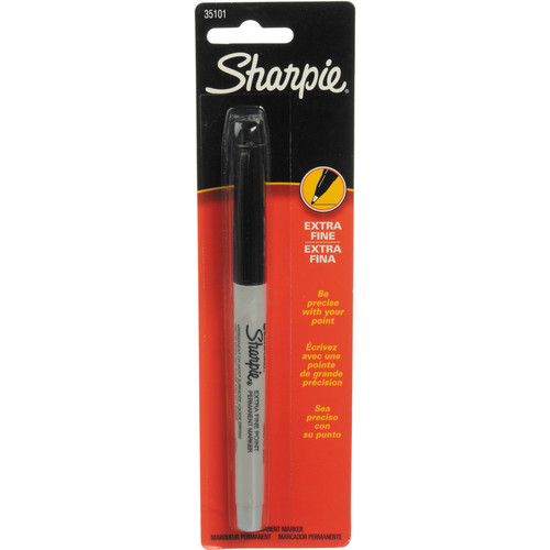 Sharpie Extra Fine Point Permanent Marker (Black)
