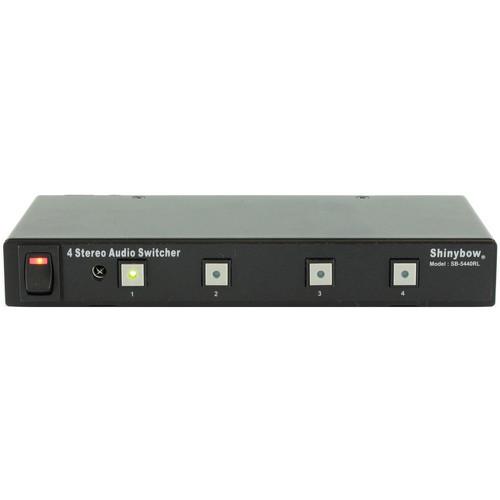 Shinybow SB-5440RL 4 x 1 Stereo Audio Selector Switcher