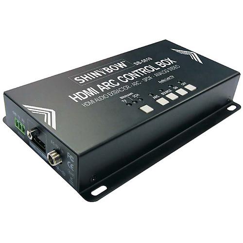 Shinybow SB-5610 HDMI ARC Control Box with HDMI Audio Extractor