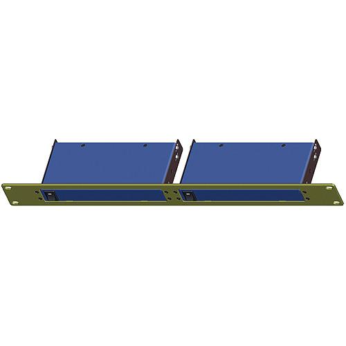 Shinybow SB-6076B Extender 1U Double Panel