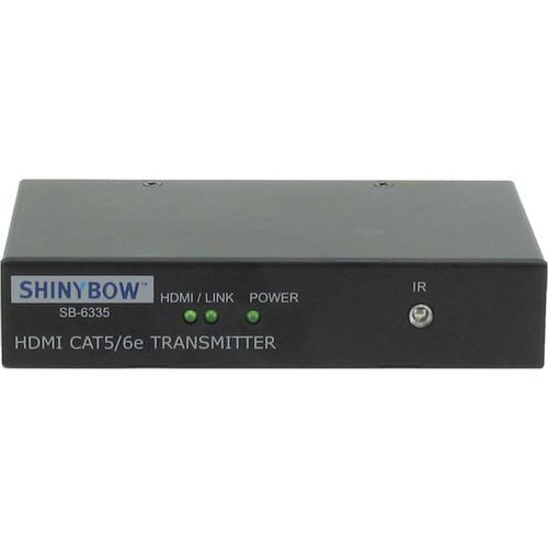 Shinybow SB-6335T HDMI over Single CAT5e/6/7 Transmitter with Bi-Directional IR