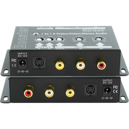 Shinybow SB-2810 S-Video & Composite Video and Stereo Audio Amplifier