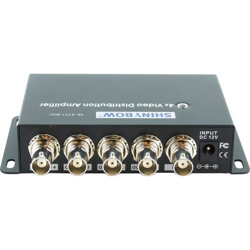 Shinybow 1 x 4 Composite Video Distribution Amplifier