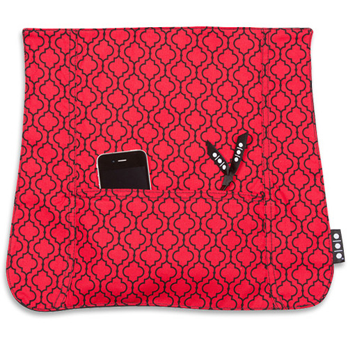 Shootsac Red Quartrefoil Pocket Cover