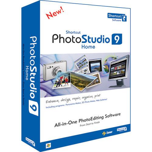 Shortcut Software PhotoStudio 9 Home Software for Windows