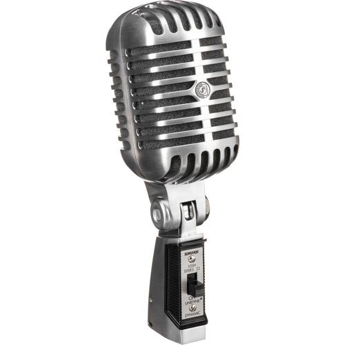 Shure 55SH/II - Cardioid Dynamic Lo-Z Microphone