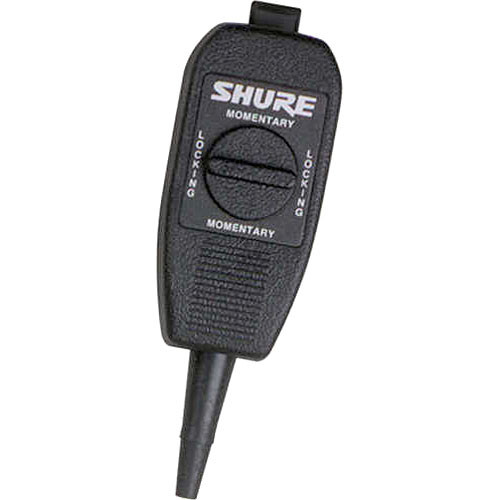 Shure A120S In-Line Switch Adds On/Off, Push-to-Talk, Cough Button and Transmitter Relay Keying Functionality to Microphones