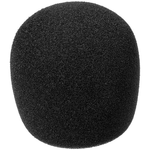 Shure A58WS-BK - Black Windscreen for Ball Type Microphones (SM48, SM58, Beta 58A, or 565SD)