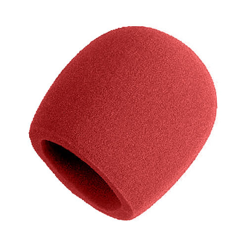 Shure A58WS-RD - Red Windscreen for Ball Mics