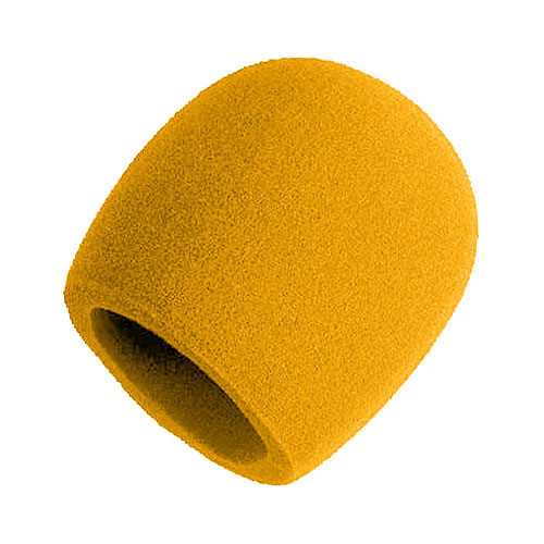 Shure A58WS-YL - Yellow Windscreen for Ball Type Microphones (SM48, SM58, Beta 58A, or 565SD)