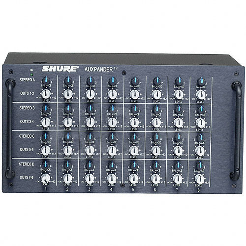 Shure AUXPANDER - 8x8 Aux Mixer