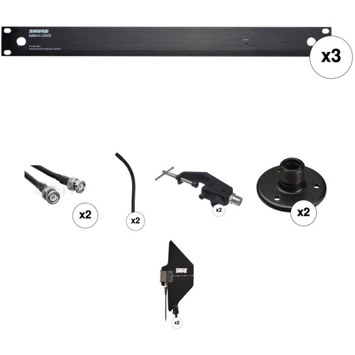 Shure Antenna and Power Distribution System Package