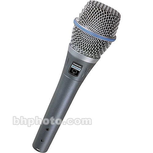 Shure BETA 87A Supercardioid Handheld Condenser Microphone