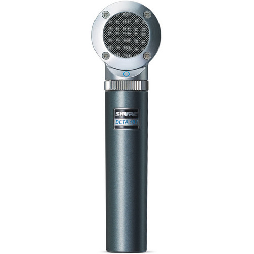 Shure BETA 181/O Omnidirectional Compact Side-Address Instrument Microphone