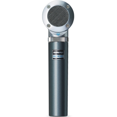 Shure BETA 181/S Supercardioid Compact Side-Address Instrument Microphone