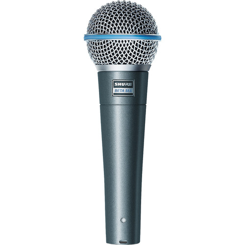 Shure BETA58A - Supercardioid Dynamic Mic